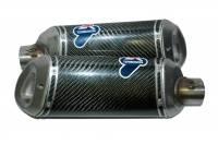 Termignoni - Termignoni CF Slip-On Exhaust: Ducati 848/1098/1198/1098R - Image 3