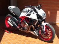 Ducabike Clear Clutch Case Cover/ Hydraulic Clutch Line Conversion Kit: Ducati Supersport: 2017-