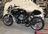 TermignoniRacing Carbon Fiber Slip-Ons: Ducati GT 1000 [Homologated]