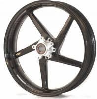 """BST Wheels - 5 Spoke Wheels - BST Wheels - BST 5 SPOKE Front WHEEL: Suzuki GSX-R 600/750 06-07  [3.5""""X17""""]"""