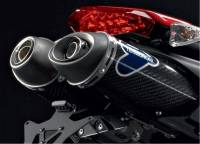 Termignoni - Termignoni CF Slip-On Exhaust: Ducati Hypermotard 796-1100