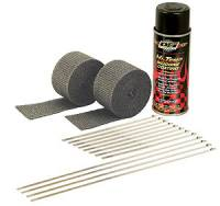 DEI  - DEI Motorcycle Black Exhaust Wrap Kit - Image 2