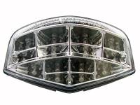 Competition Werkes - Competition Werkes Integrated Tail Light/Turn Signal: M696/M796/M1100 : Clear/Chrome