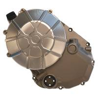 SPEEDYMOTO LIMITED NICKEL Wet Clutch Cover: Ten Spoke