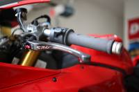CRG Carbon Fiber Clutch Lever: Ducati 848/1098/1198, Hypermotard, Monster S4R,RS, 1200, MTS 1200, Panigale Series, Diavel, X Diavel