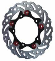 Braketech - BrakeTech AXIS Cobra Stainless Steel Series Rear Brake Rotor: Ducati Panigale 1199-1299-V4-V2, MTS 1200 '10-'14, Monster 1200, SF V4