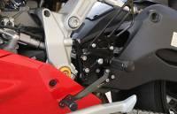 Sato Racing - Sato Racing Adjustable Billet Rearsets: Ducati Panigale 1299/1199/899/959    - Image 5