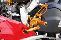 Sato Racing - Sato Racing Adjustable Billet Rearsets: Ducati Panigale 1299/1199/899/959    - Image 7