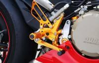 Sato Racing - Sato Racing Adjustable Billet Rearsets: Ducati Panigale 1299/1199/899/959    - Image 9