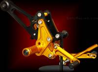 Sato Racing - Sato Racing Adjustable Billet Rearsets: Ducati Diavel