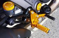 Sato Racing - Sato Racing Adjustable Billet Rearsets: Ducati Diavel - Image 4