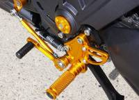 Sato Racing - Sato Racing Adjustable Billet Rearsets: Ducati Diavel - Image 5
