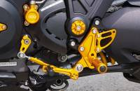 Sato Racing - Sato Racing Adjustable Billet Rearsets: Ducati Diavel - Image 6