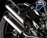 Parts - Exhaust - Termignoni - Termignoni Titanium Slip-On Exhaust: Ducati Monster 1100 EVO