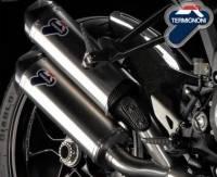Termignoni - Termignoni Titanium Slip-On Exhaust: Ducati Monster 1100 EVO