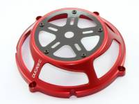 Clutch - Covers - Ducabike - Ducabike Ducati Dry Full Clutch Cover: Billet Aluminum / Carbon Fiber