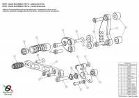 Bonamici Racing - Bonamici Adjustable Billet Rearsets: Ducati Scrambler [Rider Portion Only] - Image 3