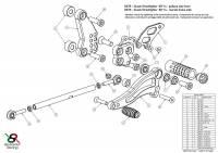 Bonamici Racing - Bonamici Adjustable Billet Rearsets: Ducati Scrambler [Rider Portion Only] - Image 4