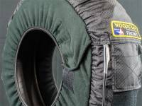 Woodcraft - Woodcraft MADE IN USA Dual Temp Gen III Tire Warmers with soft carry case - Image 2
