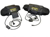 Woodcraft - Woodcraft MADE IN USA Dual Temp Gen III Tire Warmers with soft carry case - Image 9