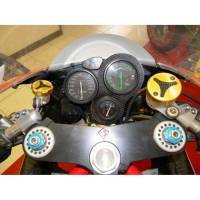 Ducabike - Ducabike Billet/CF Reservoir Cap Kit: All Ducati/Aprilia/MV Agusta Or Other Models With Brembo Brake/Clutch Reservoirs - Image 11