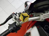 Ducabike - Ducabike Billet/CF Reservoir Cap Kit: All Ducati/Aprilia/MV Agusta Or Other Models With Brembo Brake/Clutch Reservoirs - Image 12