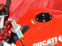 Ducabike - Ducabike Quick Action Billet Aluminum Fuel Cap: 848 / 1098 / 1198 / 748 / 916 / 996 / 998 / Monster / ST / Supersport 17+ / MV Agusta - Image 4