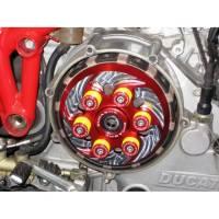 Ducabike - Ducabike Billet Clutch Pressure Plate: Dry Clutch Ducati [No Slipper] Spinning Style - Image 4