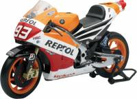 Stickers, Patches, & Toys - Toys - NewRay - NEW-RAY DIE-CAST REPLICA MARQUEZ REPSOL HONDA 1:12