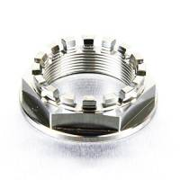 Wheels & Tires - Wheel Parts & Accessories - Motowheels - Titanium 6 Pt. Axle Nut: Ducati 748-998, 848, SF848, MTS1000-1100, S2R-S4RS, M796-1100, Mhe, Hyperstrada / Hypermotard 821