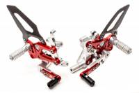 Parts - Suspension & Chassis - CNC Racing - CNC Racing Special Edition Billet Rearsets: 899/959/1199/1299 Panigale