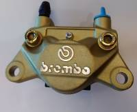 Brake - Calipers - Brembo - BREMBO Rear Caliper - 32mm 32G Piston GOLD [Ducati Monster]