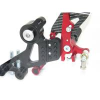 Ducabike - Ducabike Adjustable Rear Sets: M696 / M796 / M1100 - M1100 EVO [Folding Pegs/CF Heel guards] - Image 7