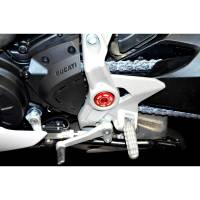 Ducabike - Ducabike CENTRAL FRAME CAP KIT: Ducati Monster 821/1200, Desert Sled, Supersport 17+