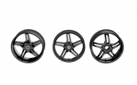 BST RAPID TEK 5 SPLIT SPOKE WHEEL SET (6 inch rear): Kawasaki ZX-14  2006 + [Including the ABS Model]