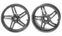 BST Wheels - Rapid TEK 5 Split Spoke - BST Wheels - BST RAPID TEK 5 SPLIT SPOKE WHEEL SET [6 inch rear]: KTM SuperDuke 1290/ GT/ R