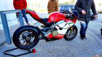 AKRAPOVIC RACING TITANIUM SLIP-ON EXHAUST SYSTEM: PANIGALE V4