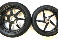 Returns, Used, & Closeout  - BST Wheels - BST Used Wheel Set: 5 Spoke Front - 7 Spoke Rear: Ducati 1098/1198 /SF 1098/ MTS 1200/  M1200 / SS 939 [Comes with tires though not new] A super Deal!
