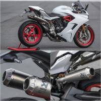 Akrapovic - Akrapovic Titanium Racing Full Exhaust System: Ducati Supersport 939 17+ [No Up-map or filter]