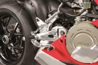Hand & Foot Controls - Foot  Controls - Bonamici Racing - Bonamici Adjustable Billet Rearsets: Ducati Panigale V4