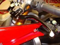TWM - TWM Folding Side Adjust Clutch Lever Black: Ducati Panigale 899-959-1199-1299-V4-V2, 999-1098, Monster 1200-S4RS, HM, SF848/1098, SF V4 - Image 2