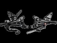 Hand & Foot Controls - Foot  Controls - Bonamici Racing - Bonamici Adjustable Billet Rearsets: Ducati Panigale V4/S