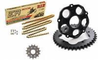 Drive Train - Front Sprockets - SUPERLITE - SUPERLITE Quick Change Lightweight Kit: Panigale V4/S/R [116 Link Chain]