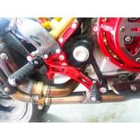 Ducabike - Ducabike Adjustable Rear Sets: Ducati S2R/S4R/S4RS [Folding Pegs/ CF Heel-guards] - Image 3