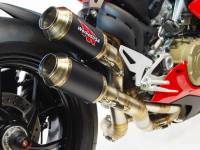 Competition Werkes Slip-on Exhaust: Panigale V4