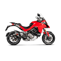 Akrapovic Titanium Slip-On Exhaust: Ducati Multistrada 1200 [15-17],1260/1260S