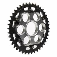 SUPERLITE - SUPERLITE 525 Pitch Direct Replacement Steel Rear Sprocket: 848, SF848, HM796-1100, M796, MTS1000-1100, S4R, S4RS, 998 SBK [Replaceable Outer Sprocket]