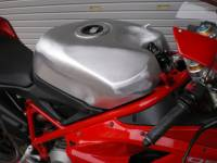DUCATI 848/1098/1198 20L Hand Crafted Aluminum Fuel Tank