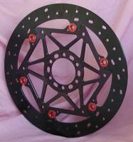 Brake - Rotors - Braketech - BrakeTech AXIS 330mm Iron Race Series Rotors: Ducati Scrambler 1100