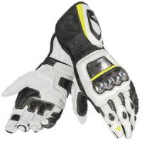 DAINESE Closeout  - DAINESE Full Metal D1 Gloves [Black/White/Fl-Yellow XS]
